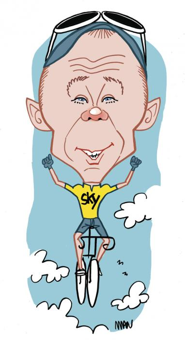 Caricature : Froome Chris