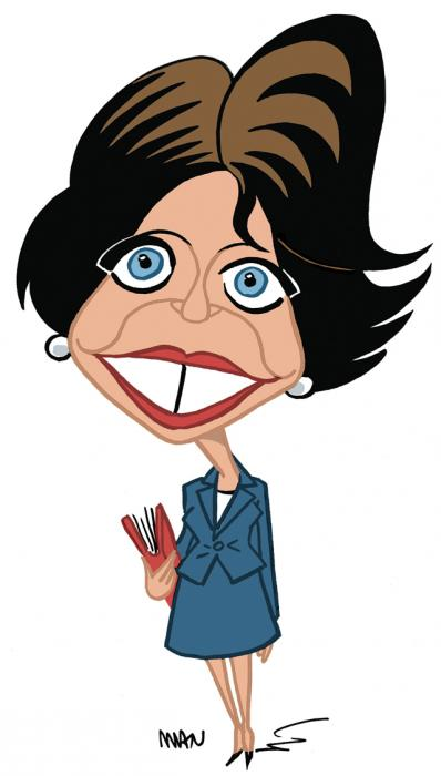 Caricature : Touraine Marisol