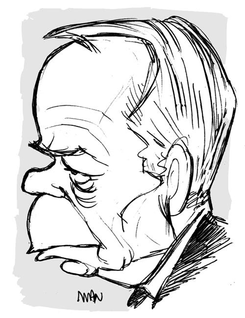 Caricature : Ayrault Jean-Marc