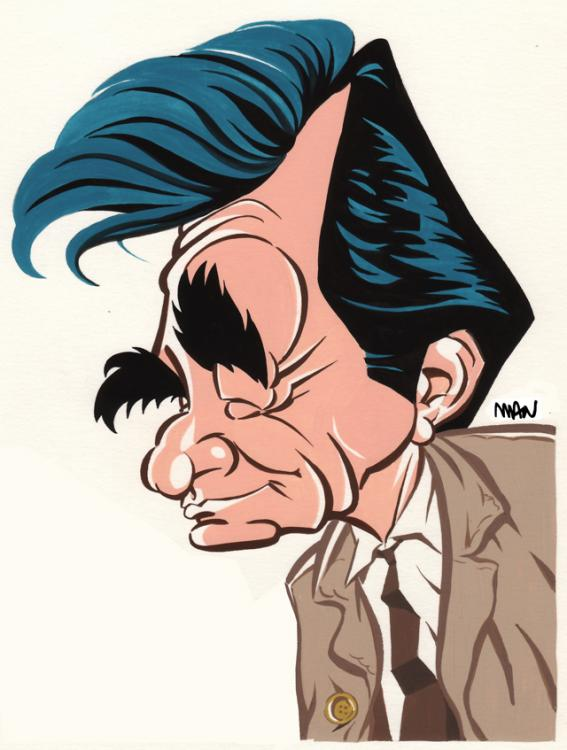 Caricature : Falk Peter 2